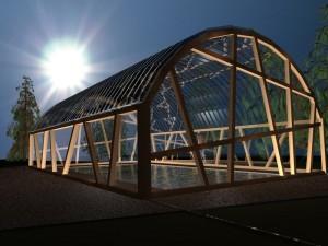 Progetto copertura piscina