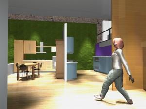 Progetto esposizione Mobili