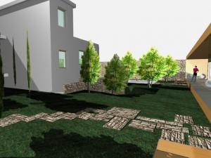 Progetto villa Santo Spirito